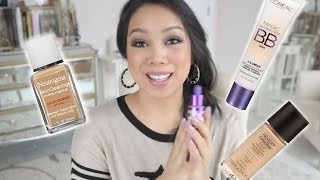 Top Favorite Drugstore Foundations of All Time! - itsjudytime