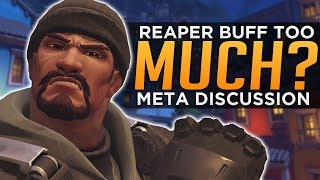 Overwatch: Reaper BUFF Too Much? - Meta Discussion