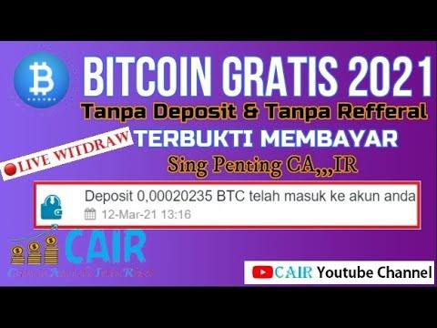 bitcoin gratis tanpa depozit