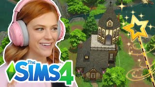 I Built A Harry Potter Inspired Home In The Sims 4 | Part 1