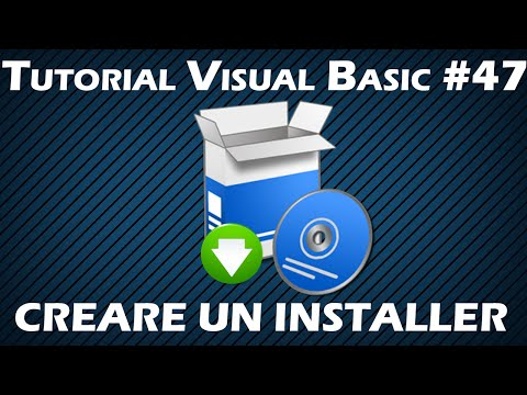 Tutorial Visual Basic #47 - Creare un Installer