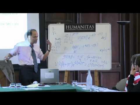 Humanitas: Professor Sir Partha Dasgupta at the University of Oxford, Masterclass Part Two