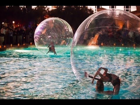 Zen Arts Bubble Sphere Performers