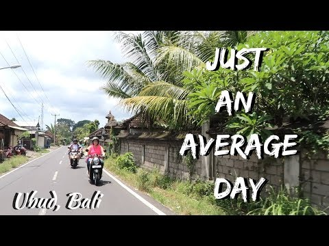 A Day In The Life | Ubud Bali Indonesia Travel Vlog