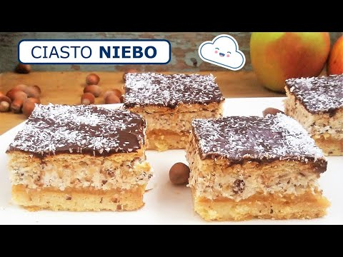 Ciasto Niebo z jabłkami i orzechami (Film) / Polish Buttercream Apple 'Heaven' Cake (Video Recipe)