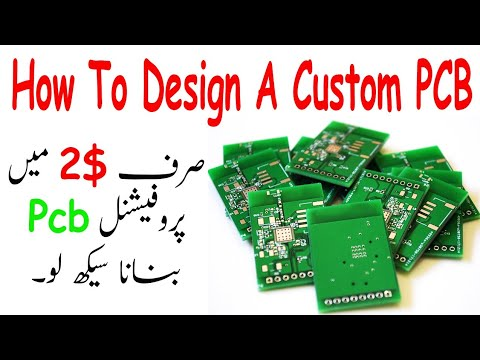 How To Design A Custom PCB Using EasyEDA! JLCPCB