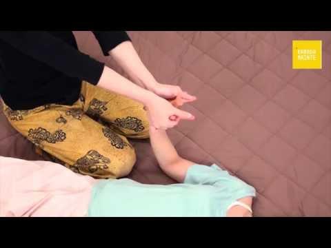 07指のマッサージとけん引・手の平・指・手首のストレッチ
