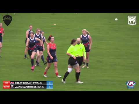 2019 AFL European Championship - Saturday Morning Finals session