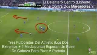 ataque directo y pressing del athletic bilbao marcelo bielsa ocasion de gol