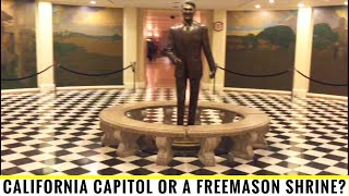 California Capitol Or Freemason Shrine?