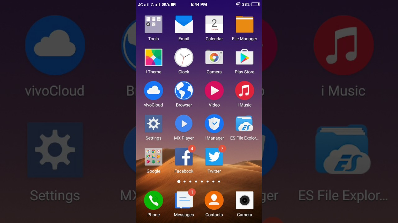 Vivo phone theme