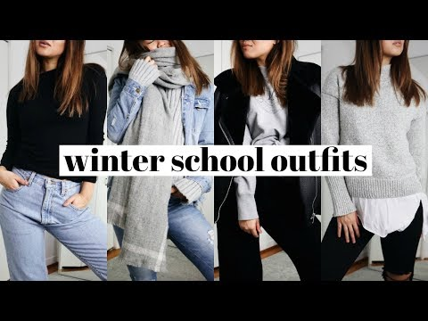Winter Outfits For School Rachspeed Youtube