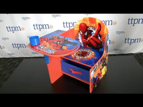 Marvel Spider Sense SpiderMan Chair Desk from Delta Childrens