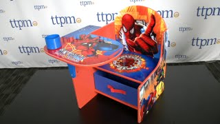 Marvel Spider Sense Spider-man Chair Desk From Delta Children's Products