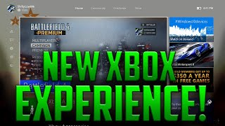 New Xbox One Experience! | Preview Program/Update Impressions