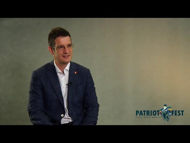 Interviu Patriotfest - Sebastian Cochinescu | Participă și tu pe patriotfest.ro!