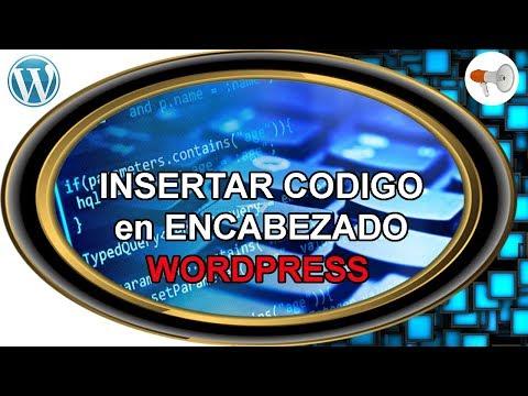 📢 Wordpress #10: Insertar codigo en encabezado ( header ) - curso / tutorial español thumbnail