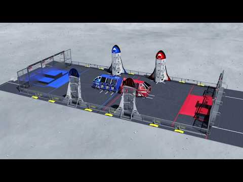 2019 FIRST Robotics Competition Destination: Deep Space Game Animation