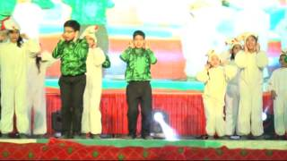 DPS Kaithal GUSTO Annual Function 19th December 2015 (Kukdu Ku Dance)