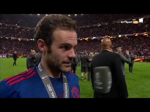 Juan Mata: Europa League success is a great end to a difficult week for Manchester United