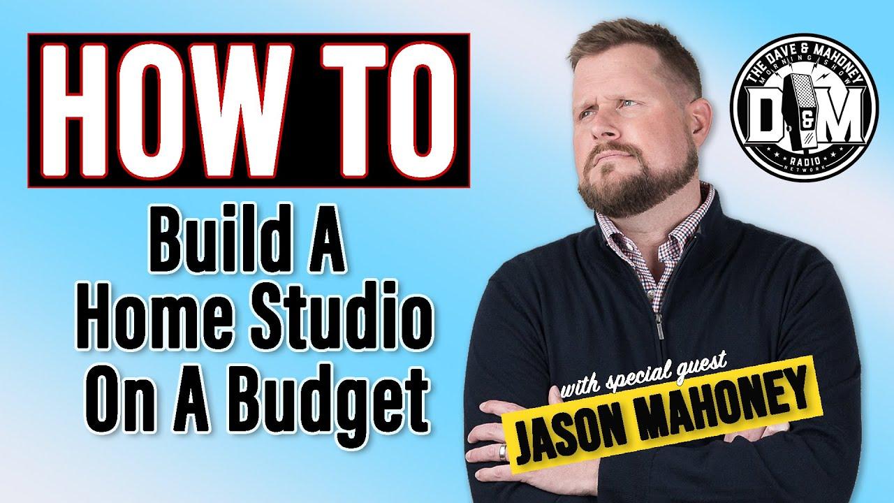 Build a Home Studio on a Budget with Jason Mahoney