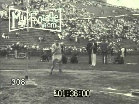 Stock Footage - 1936 SPORTS: AMERICA