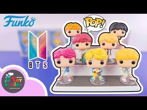 BTS Funko POP trọn bộ 7 thành viên Bangtan Boys ToyStation 364
