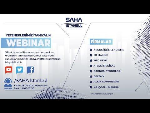 SAHA İstanbul Makine ve Diğer İmalat Ekipmanları Komitesi 28.05.2020 Canlı Yayını