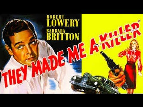 They Made Me A Killer Full Movie #Crime Drama | Robert Lowery, Barbara Britton | American Crime Film