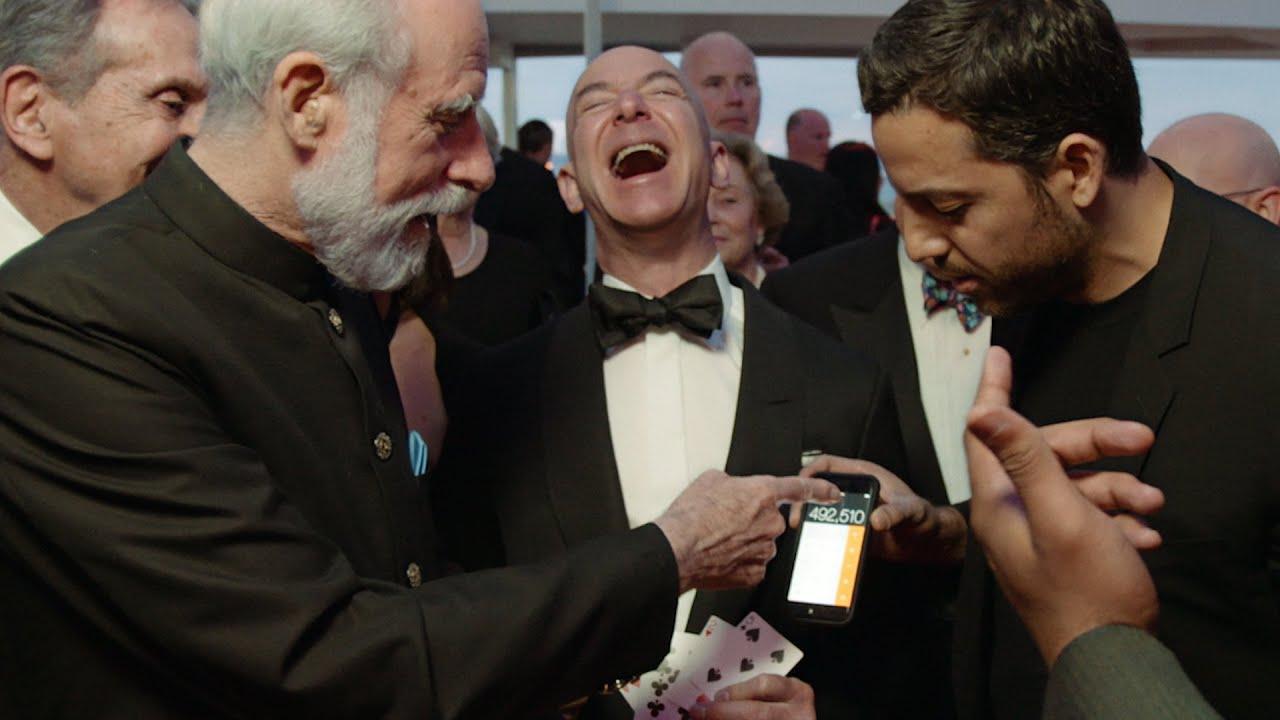 Card Tricks with Jeff Bezos - YouTube