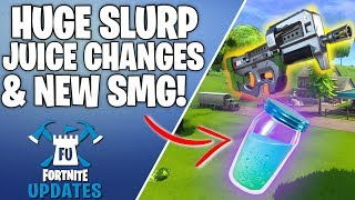 HUGE Changes Coming To Slurp Juice In Fortnite Patch!
