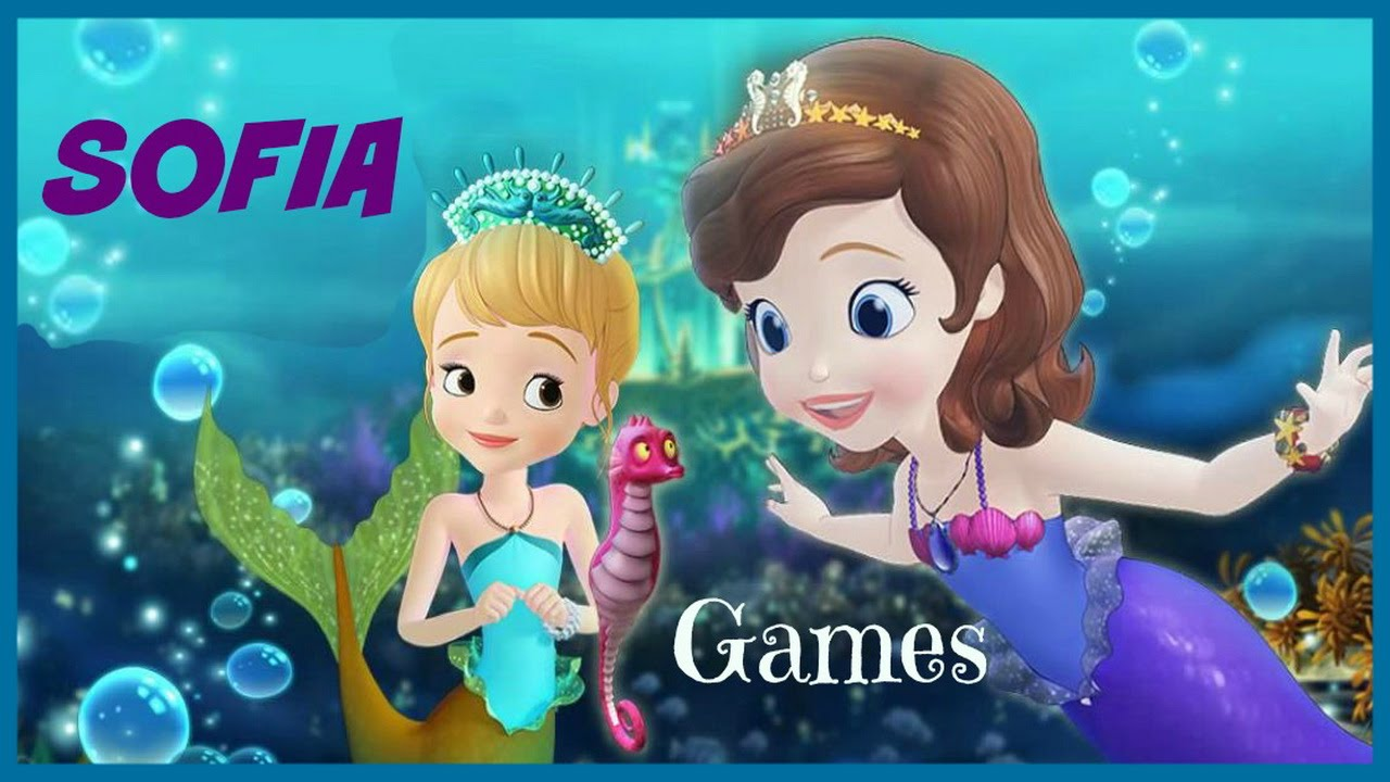 Uncategorized Movie Games For Kids sofia the first in mermaid princess movie episode pricess games great kids youtube