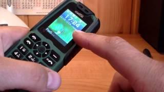 Водонепроницаемый телефон - павербанк Xiaocai X6 GSM Dual SIM 5000mAh