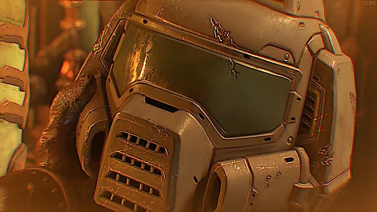 Doom Eternal Doom Slayer Speaks Cutscene Doomguy Talks Youtube
