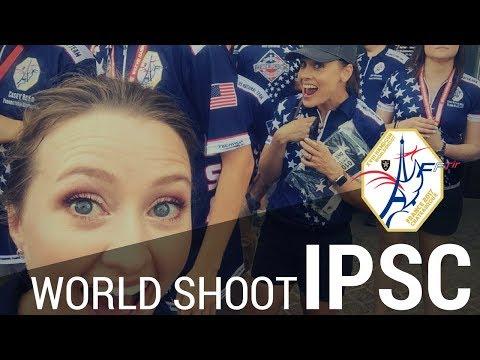 IPSC World Shoot Opening Ceremonies Châteauroux France | JulieG TV