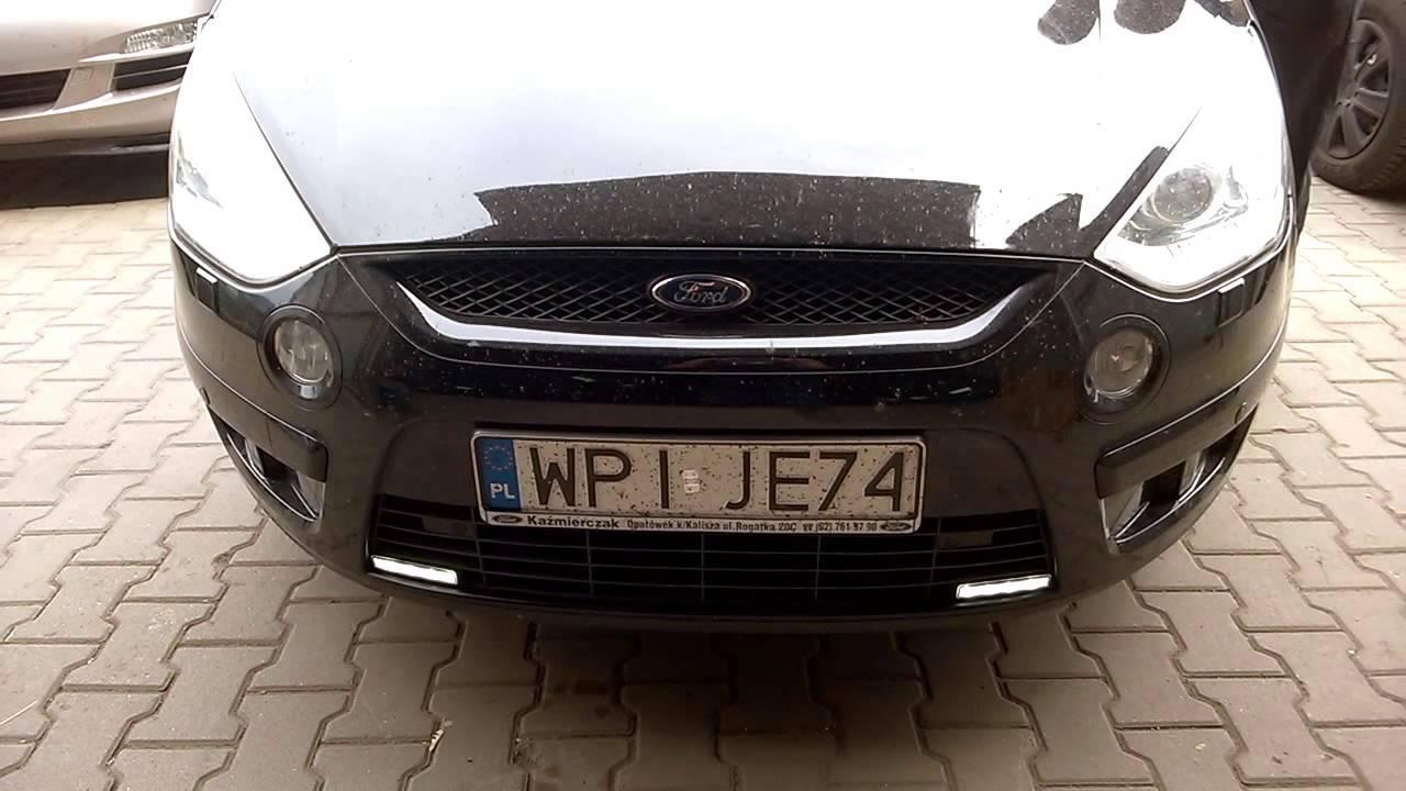 Montaż świateł do jazdy dziennej - Ford S-Max 2.0 TDCi ...