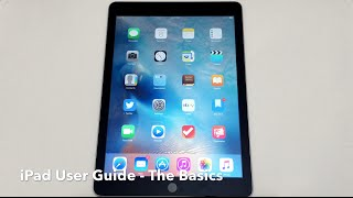 iPad User Guide - The Basics (Updated)
