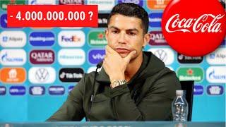 Ronaldo kostet Coca-Cola 4 Milliarden? Warum das Fake ist!