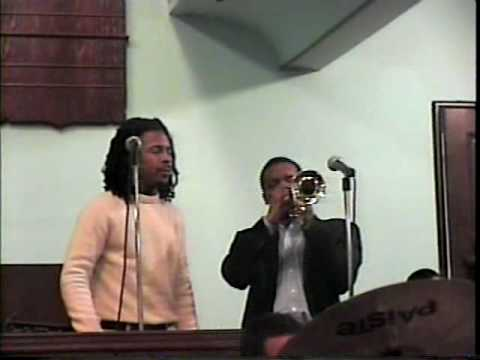 Dontae Winslow & Roy Hargrove!!!2001 @Dontae's Mothers' funeral