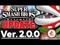 Smash Ultimate 2.0.0 Patch HUGE Update with Details!
