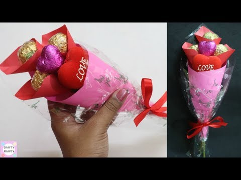 how-to-make-chocolate-bouquet-/-valentine-day-gift-idea-/-diy-chocolate-bouquet