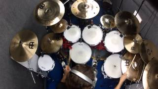"Pantera drum cover ""War Nerve"""
