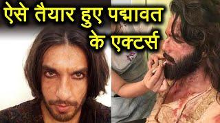 Padmaavat: Shahid Kapoor - Ranveer Singh's BEHIND the scenes photos goes VIRAL |  FilmiBeat