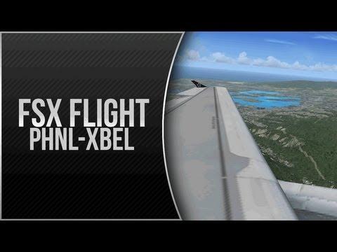 FSX - PHNL to XBEL (A319)