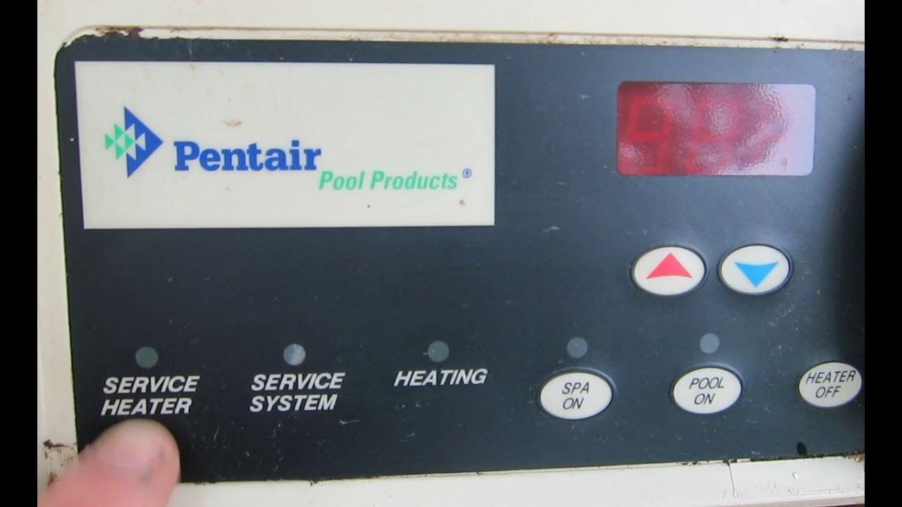 Service Heater Light Propane Pool Mouse Nest