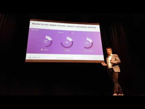 Joris goossens ComScore presentation during Telecom Insights 2016