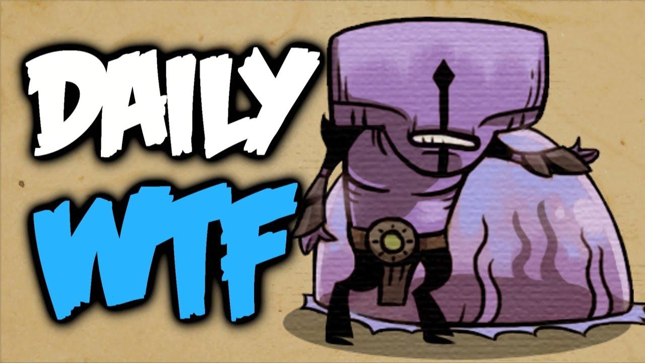 Dota 2 Daily WTF - Dota 2 lesson на youtube