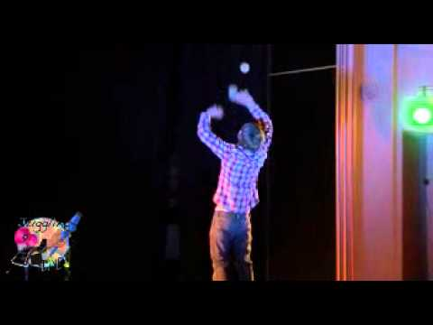 Chris Noonan Byjoty Juggling Routine