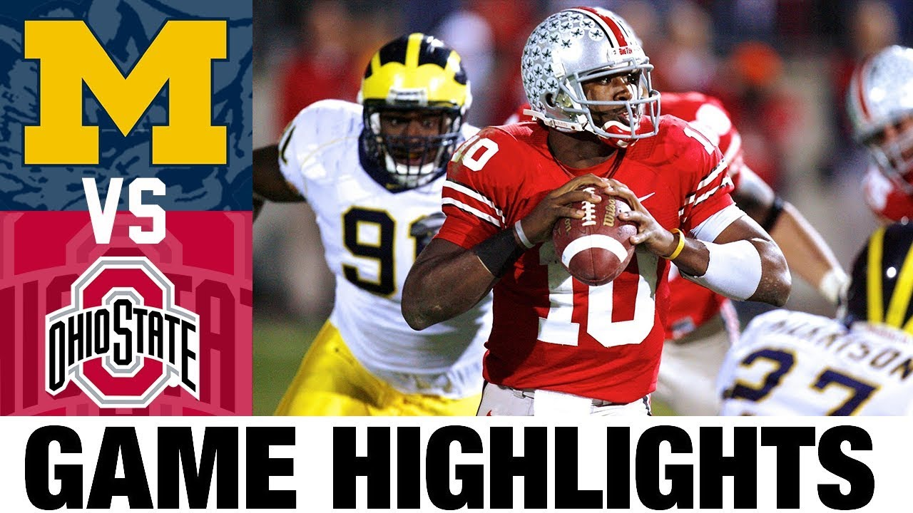 #2 Michigan vs #1 Ohio State | 2006 Game Highlights | 2000's Games of the Decade