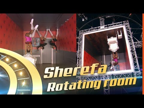 Christina Aguilera - Express Cover By: Sherefa  ROTATING ROOM  FINALE